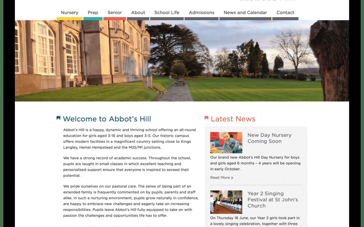 Abbots Hill website