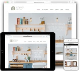 Website responsive on different devices