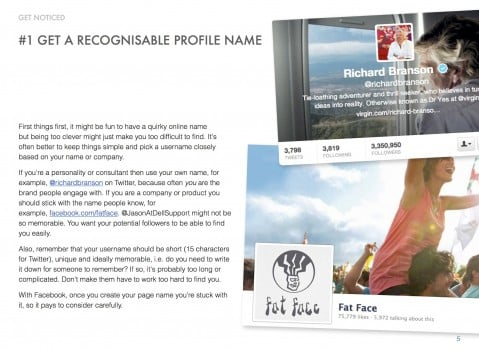 Be sociable book screenshot2