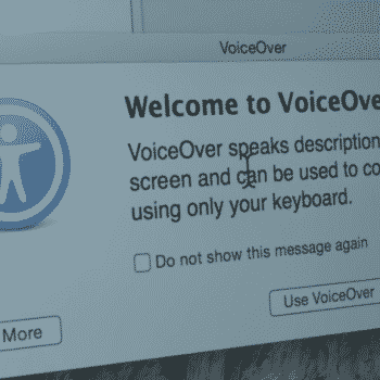 Screenshot of voice over from James Rath video