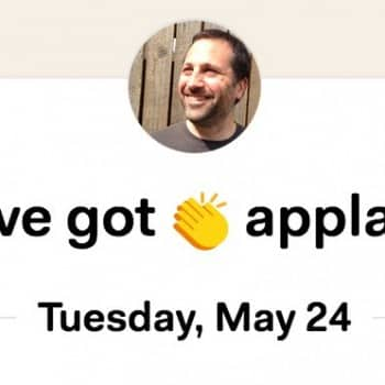 Basecamp applause message