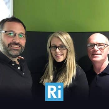 Ben, Rebecca and Jeremy selfie GDPR interview