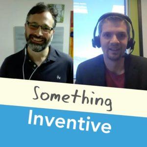 Something Inventive Jonathan Mahan podcast cover art