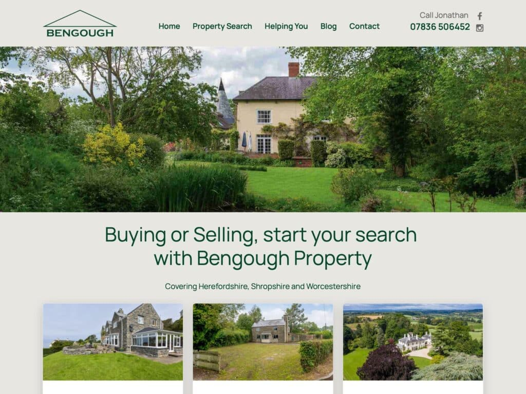 Bengough Property website bengoughproperty.com