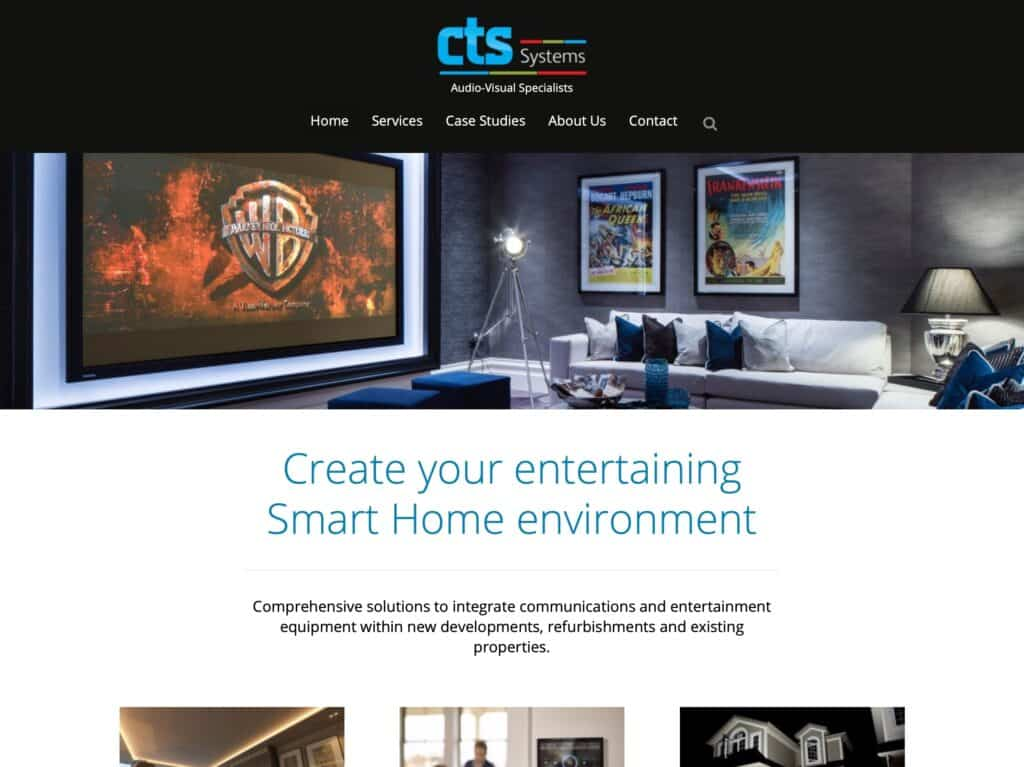 CTS Systems website cts-systems.co.uk