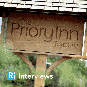 Interview The Priory Inn, Tetbury cover
